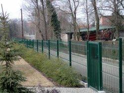 KC 4 W táblás kerítés