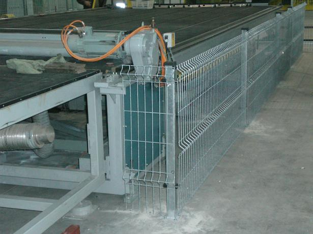 térelválasztó kerítés